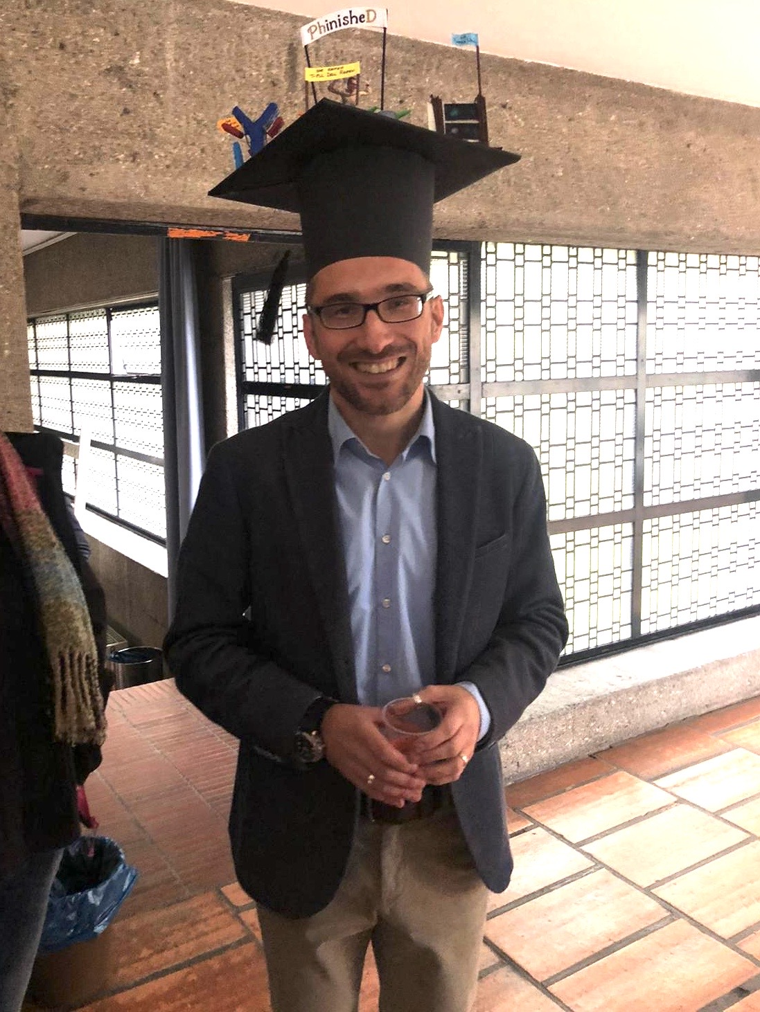 We congratulate Dr. Sebastian Oberbeck on his PhD defence!